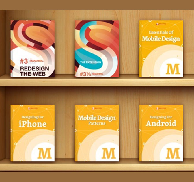 Smashing Web & Mobile Design eBook Bundle: 6 eBooks for only $24!