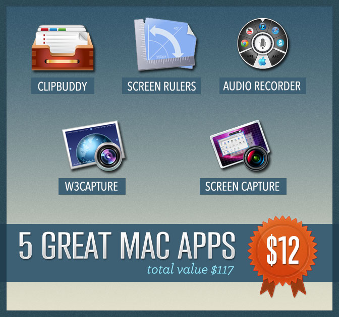 Mighty Mac Bundle - 5 Incredible Mac Apps for only $12!