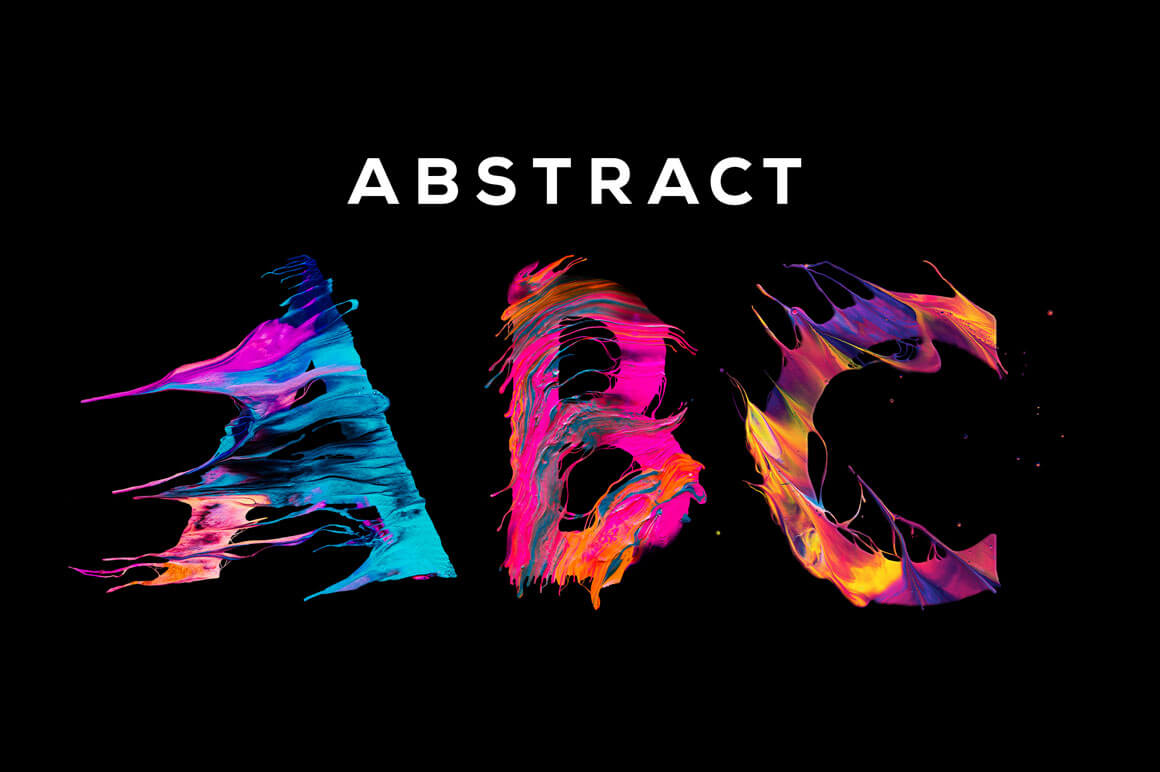 Abstract abc unique painted letters with transparent backgrounds abstract abc unique painted letters with transparent backgrounds only 9 altavistaventures Image collections