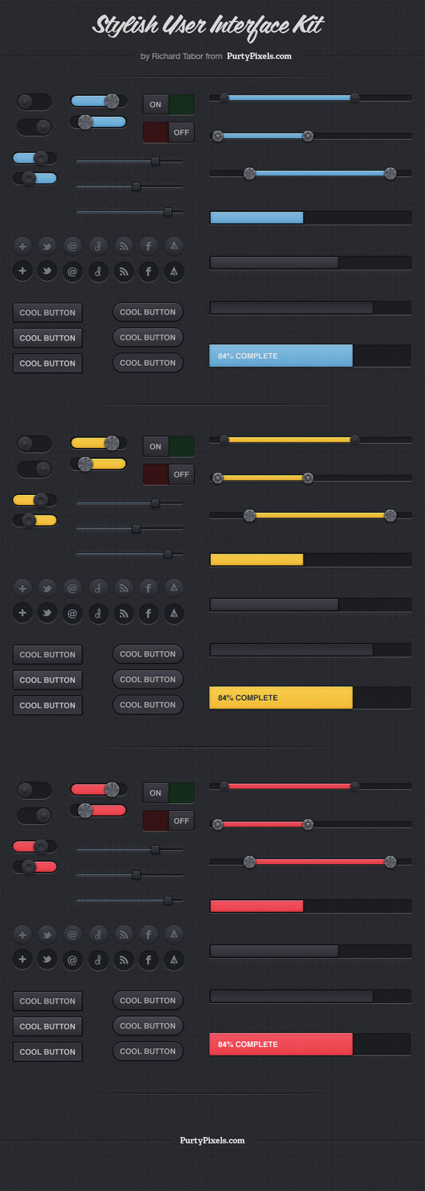 Stylish User Interface Kit