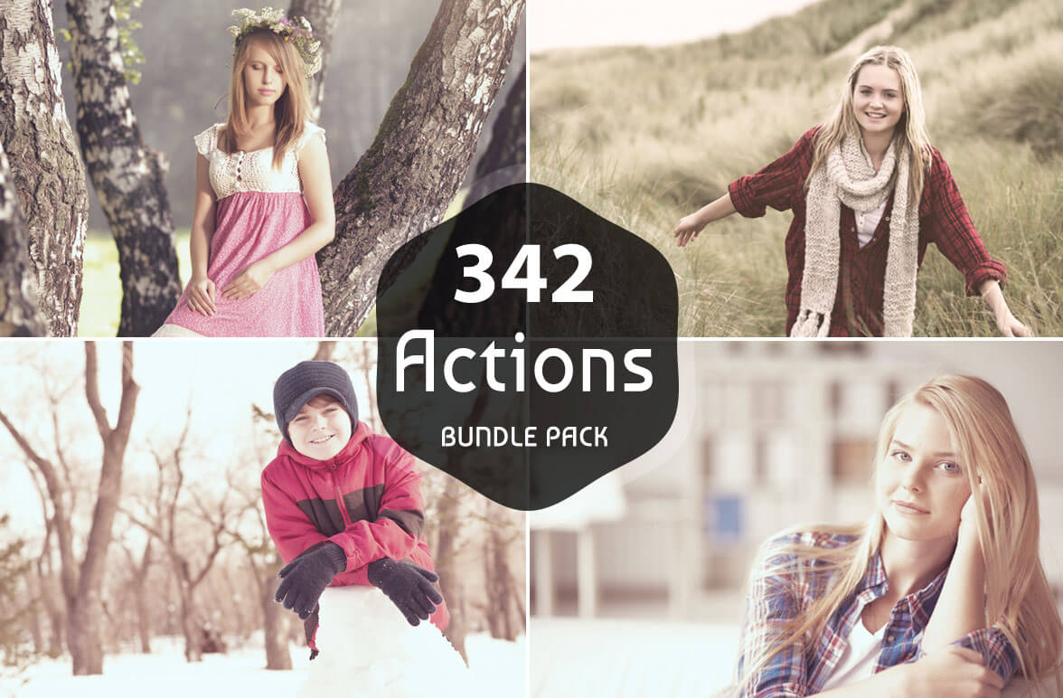 300 premium photoshop actions only 9