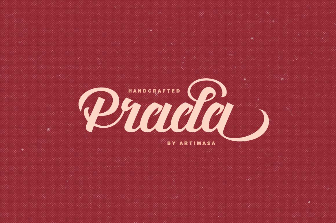 Artimasas Fun Vintage Prada Script Font