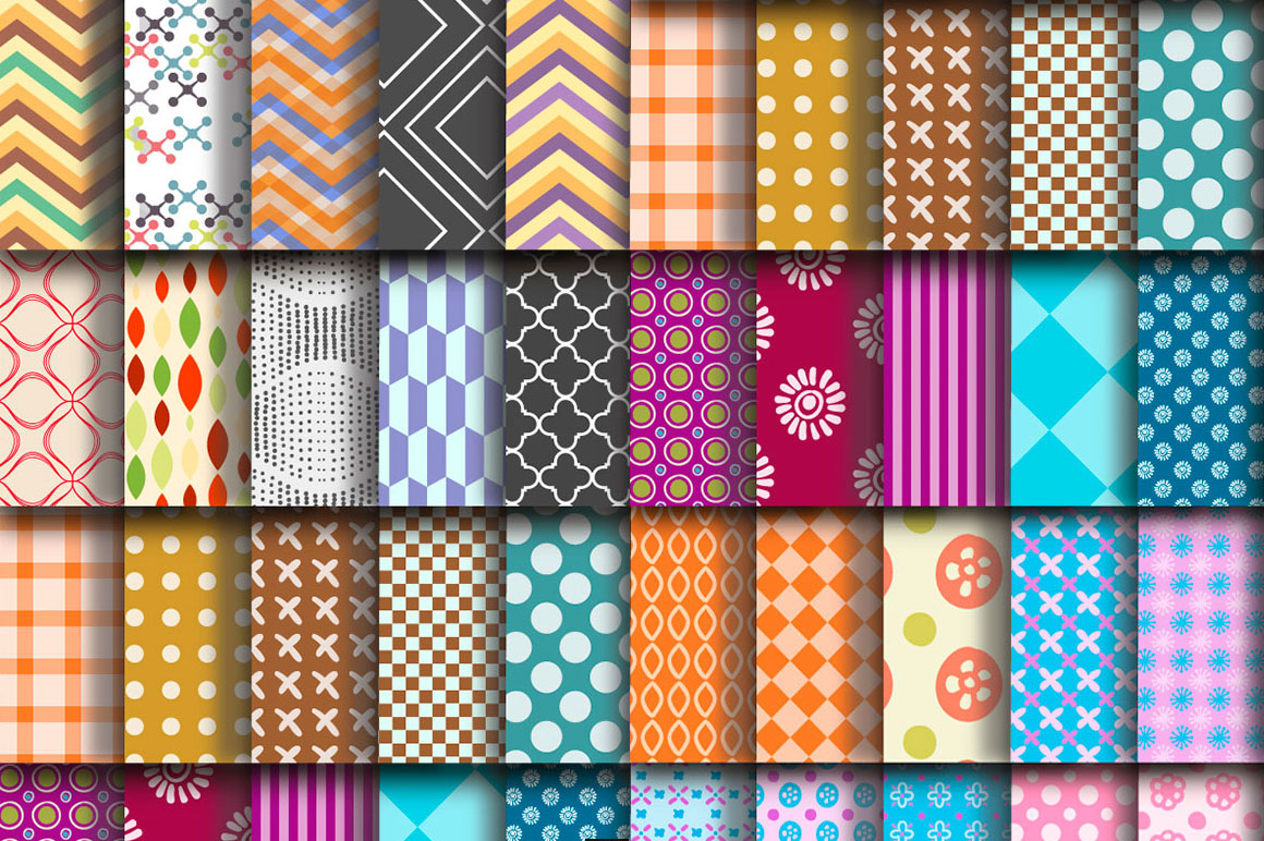 free download 100 repeating vector patterns from freepik mightydeals