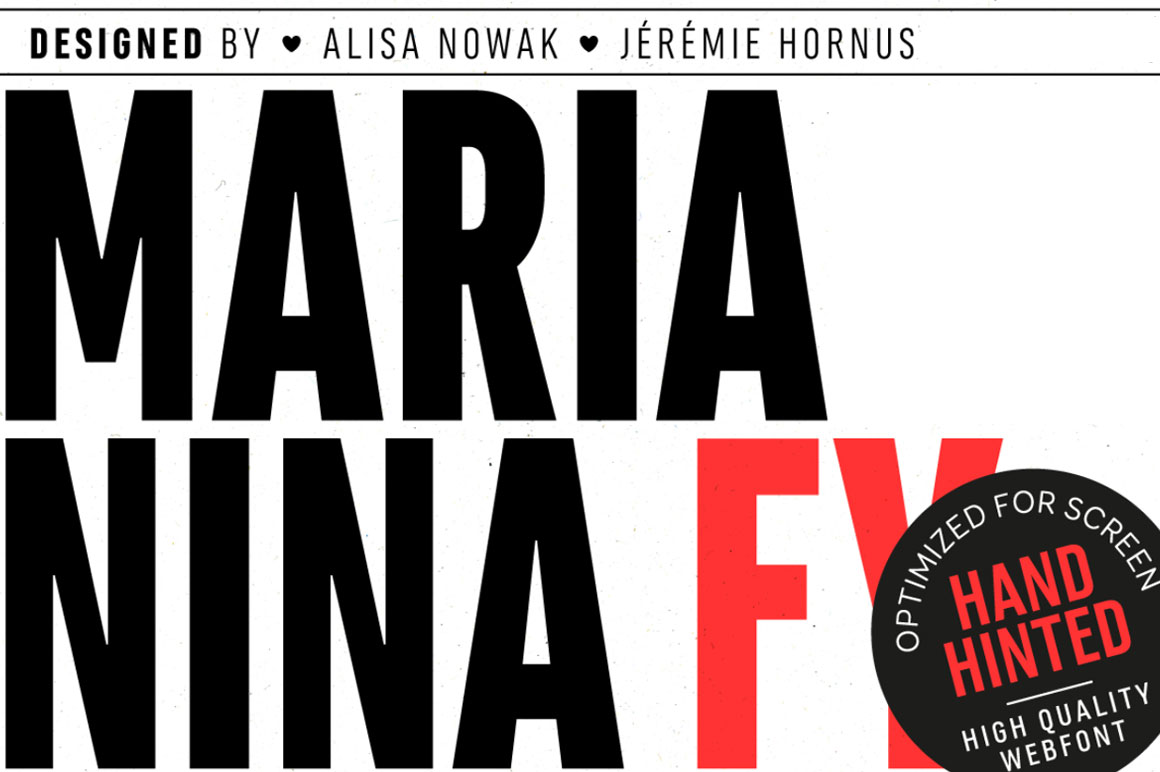free font marianina fy bold from font you