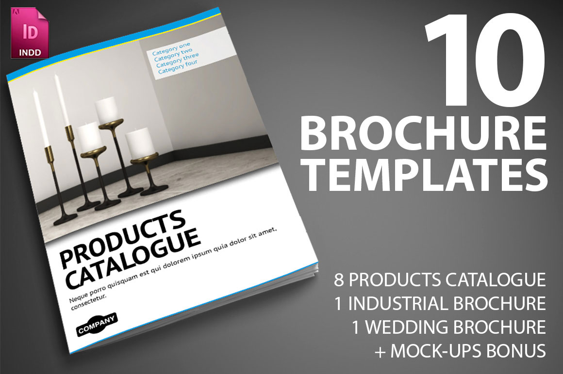 last day 10 professional indesign brochure templates from smarty bundles
