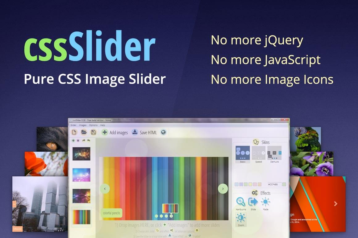 LAST DAY: Pure CSS Image Slider with Auto-Cropping and Resizing