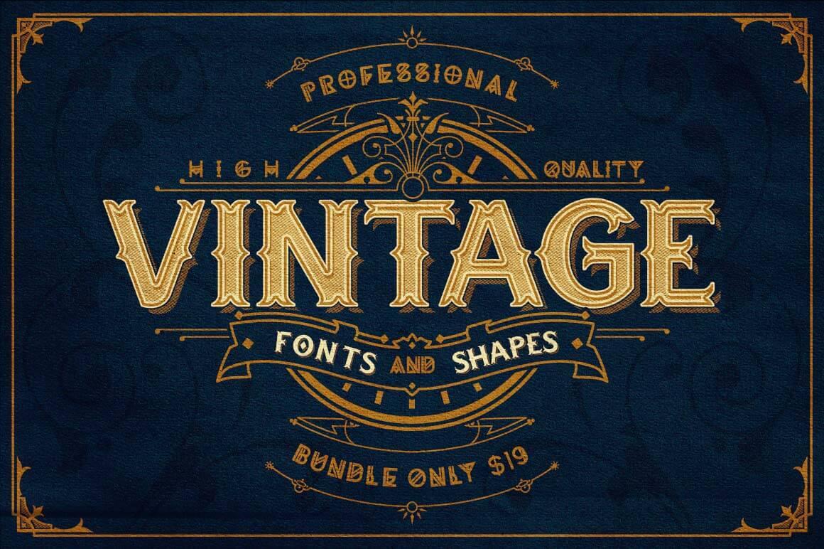 top antique sign fonts - photo #27