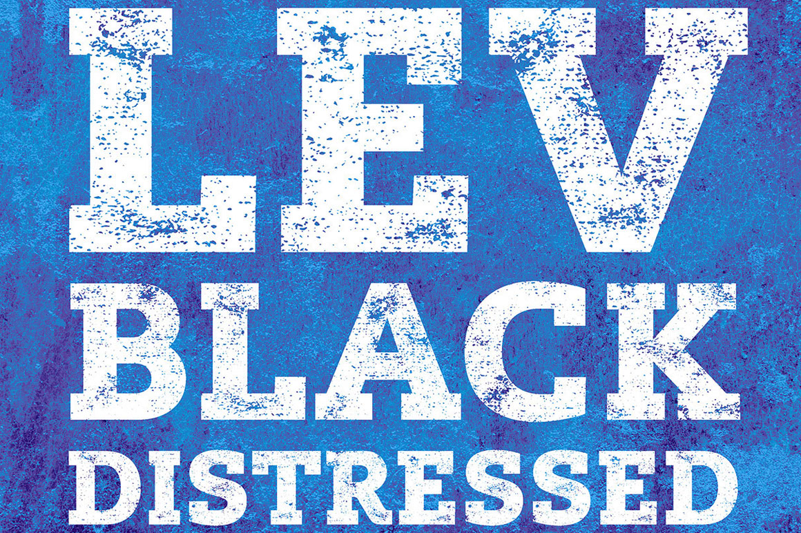 Free font lev black distressed mightydeals free font lev black distressed thecheapjerseys Images