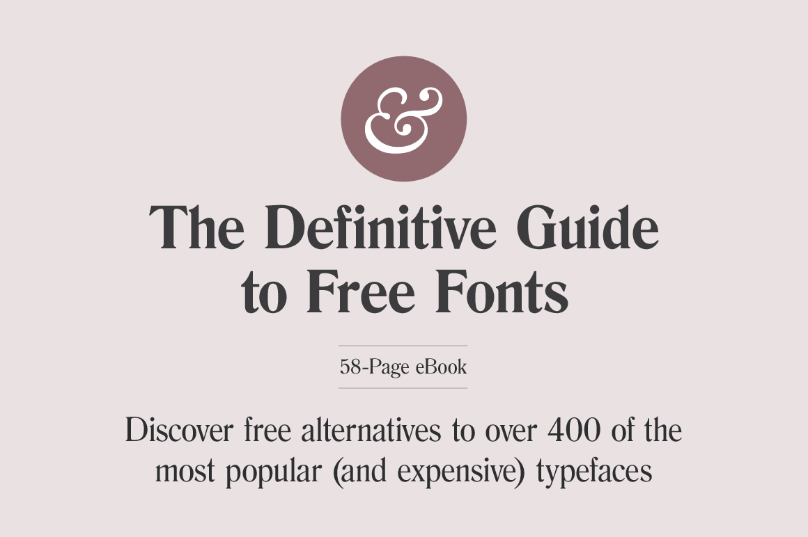 Last Day The Definitive Guide To Free Fonts Ebook By Typewolf