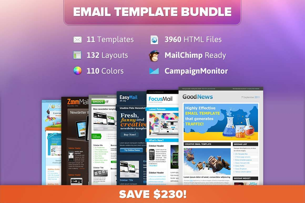 online newsletter templates