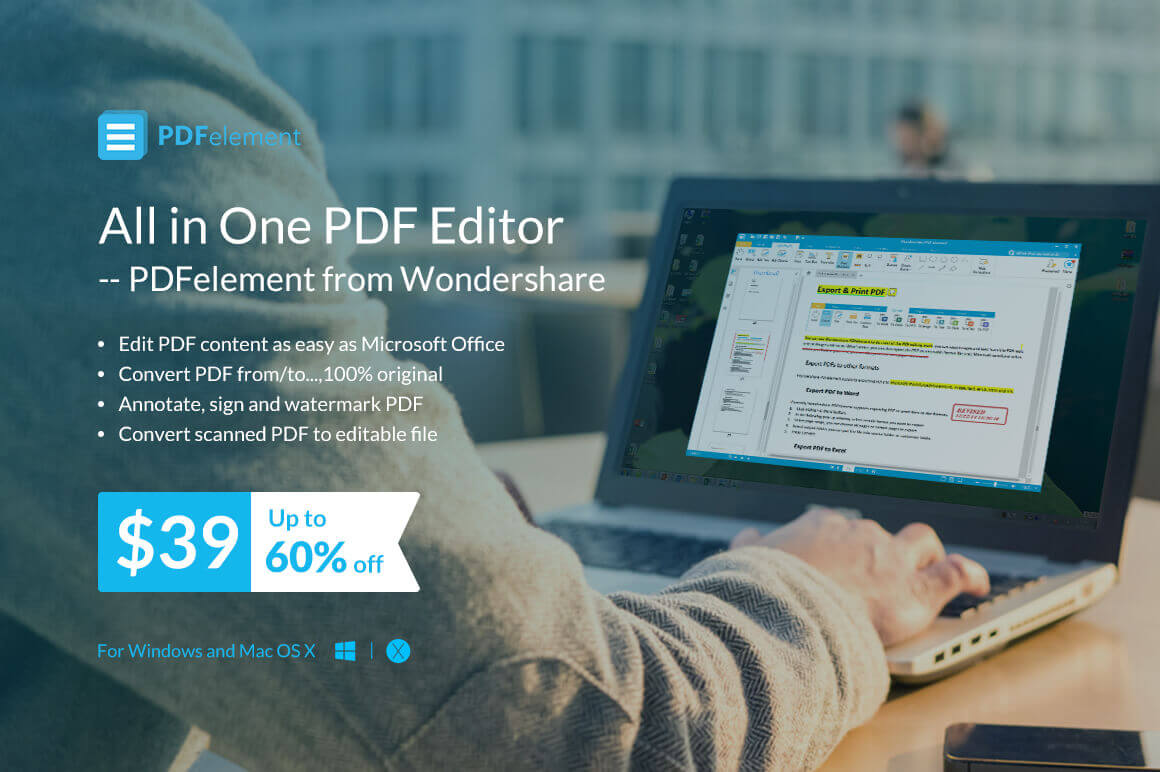 PDFelement: All-in-One PDF Editor & Converter with OCR