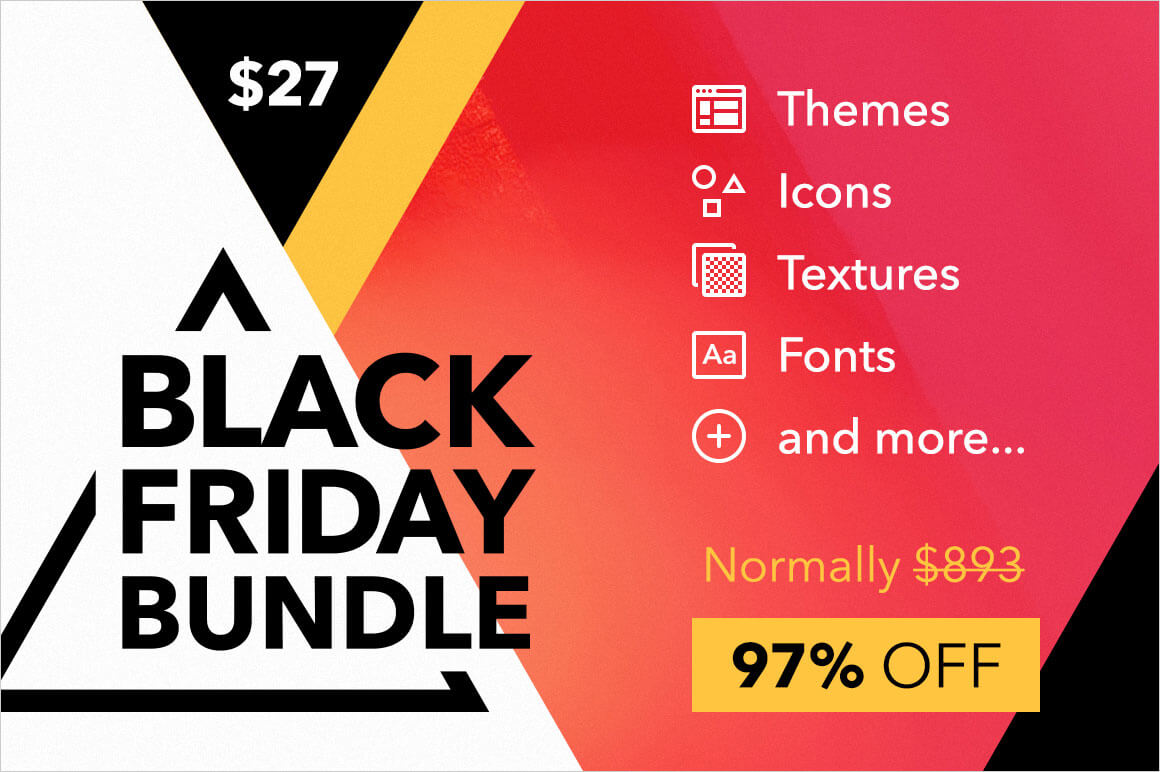 Black Friday Bundle 10 Creative Products For Your Designer Toolkit