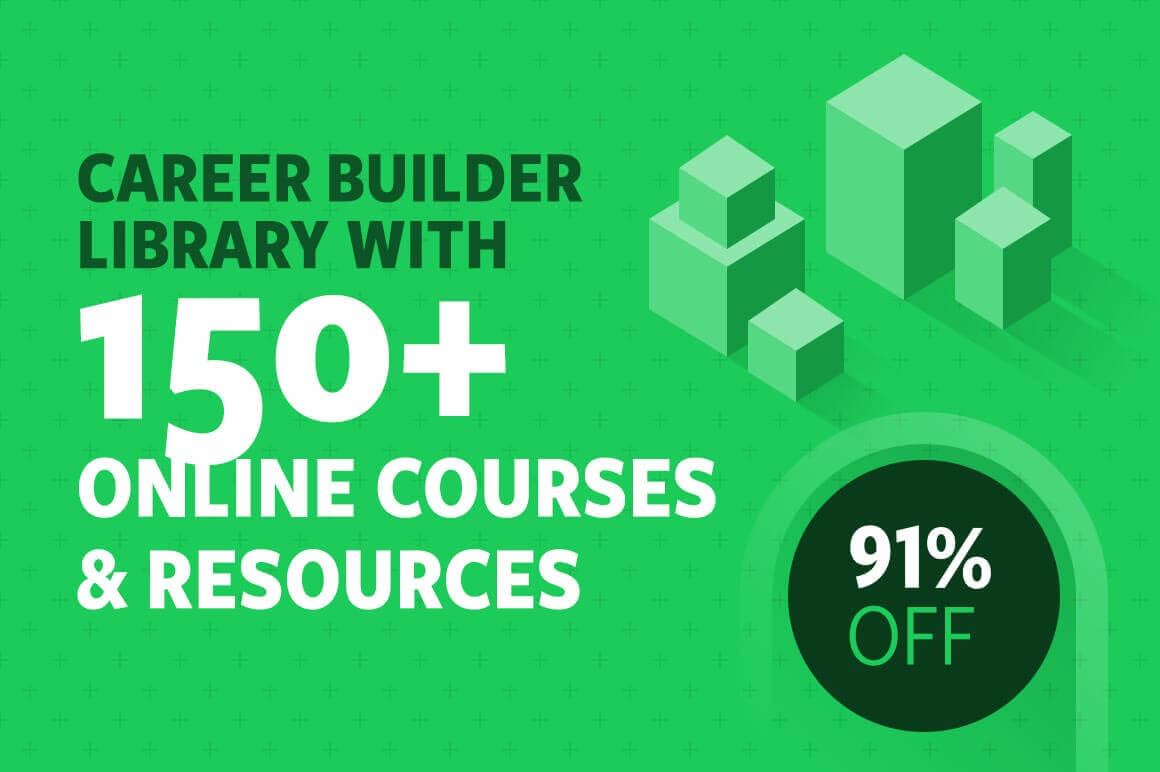 career builder library with 150 online courses and resources 91 off