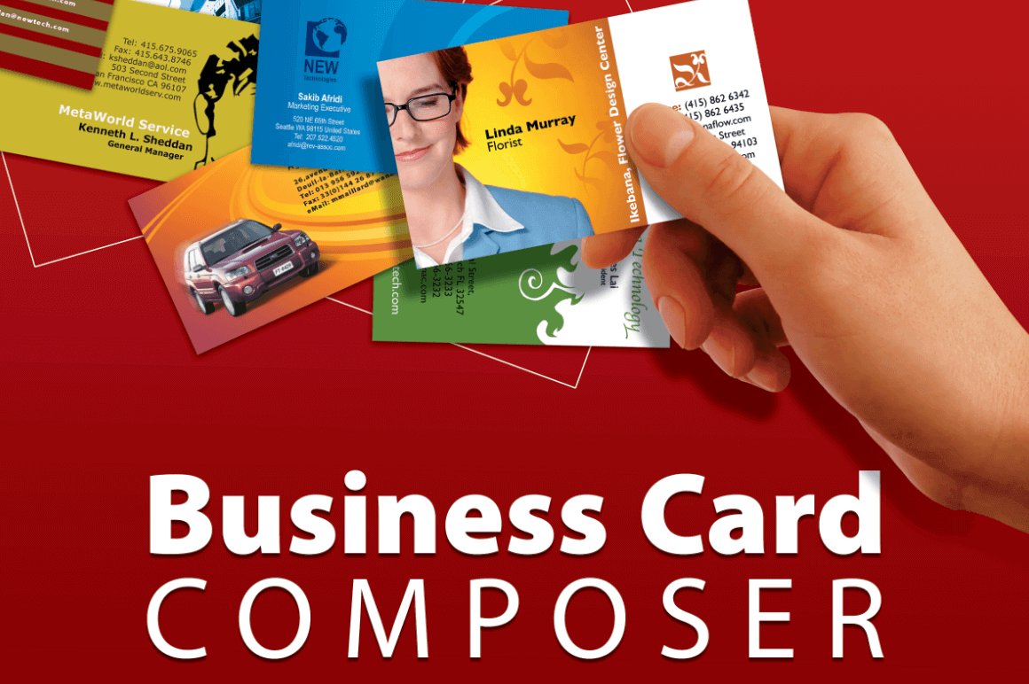 Business Card Composer for Mac - only $12! - MightyDeals