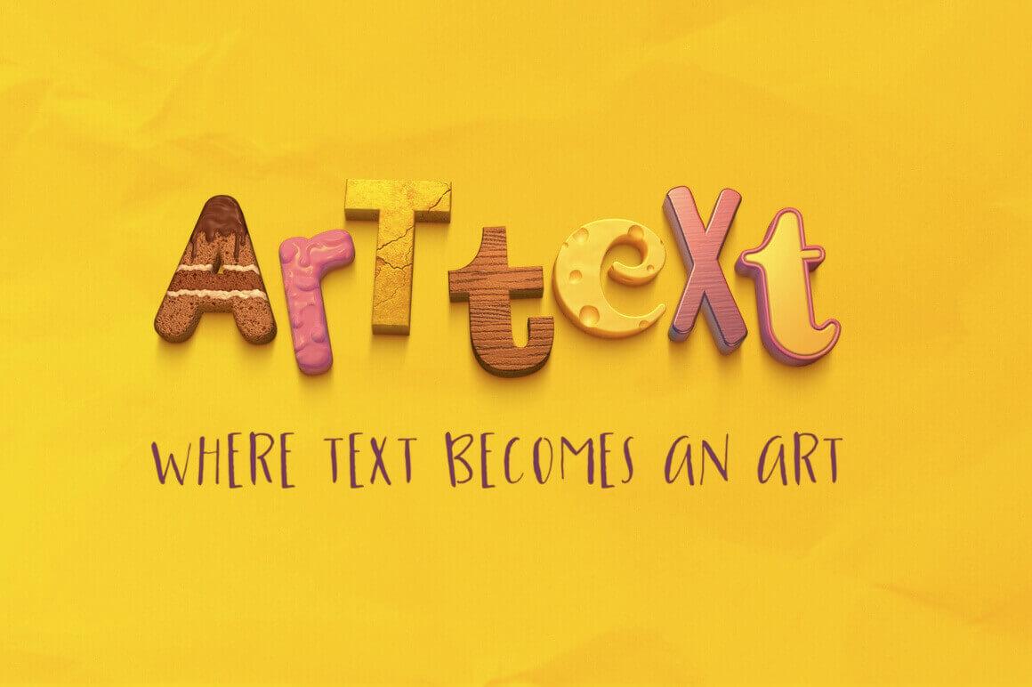 art as text