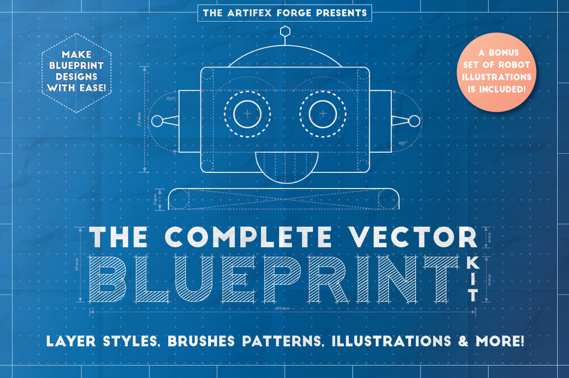 Last chance the complete vector blueprint kit from the artifex last chance the complete vector blueprint kit from the artifex forge only 9 malvernweather Gallery