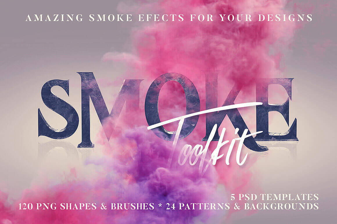 LAST CHANCE: 250+ Smoke Effects Including Shapes, Brushes