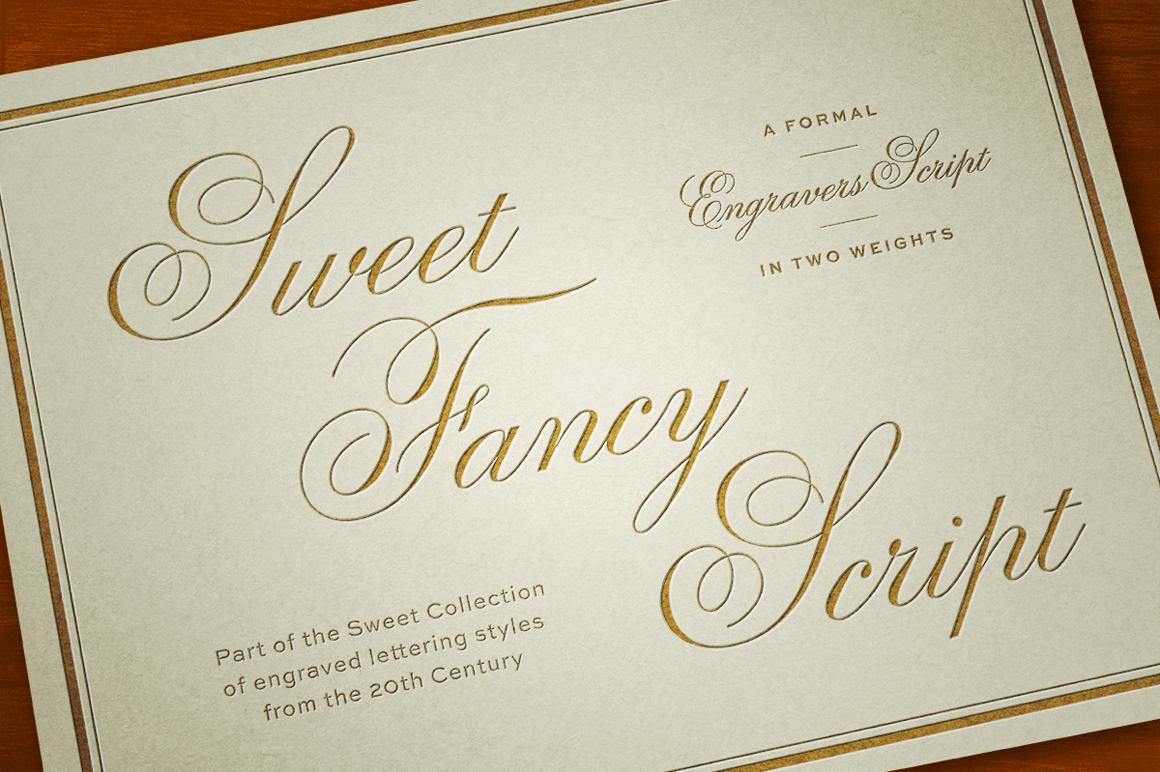 Classic And Elegant SweetR Fancy Script Font