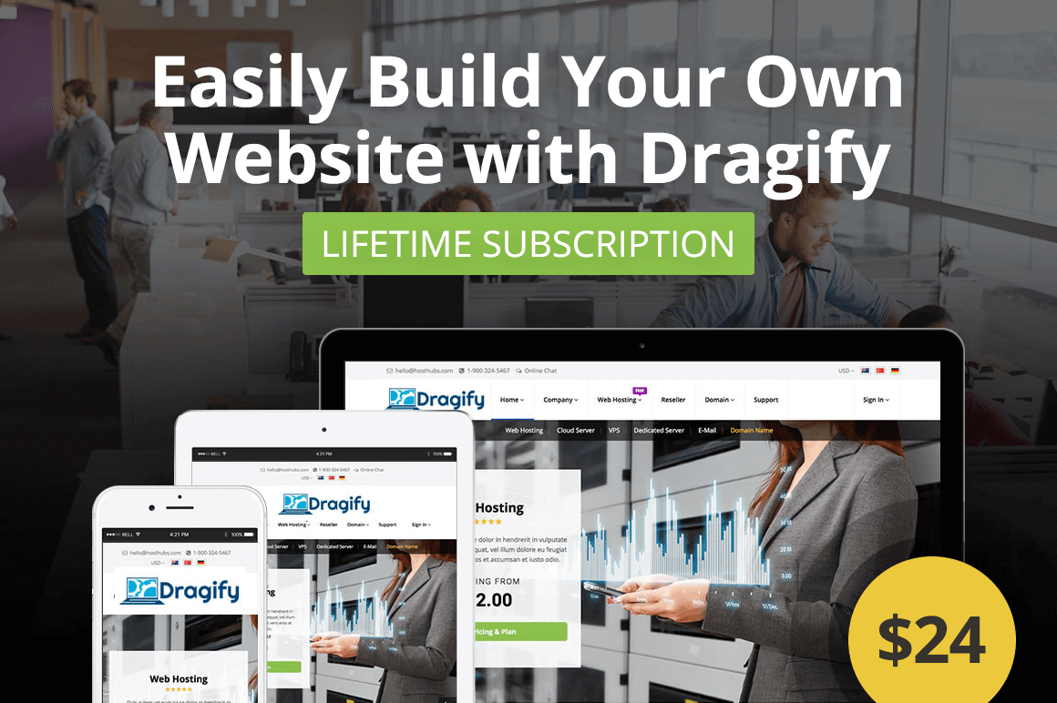 Easily build your own website with dragify only 24 mightydeals easily build your own website with dragify only 24 fandeluxe Image collections