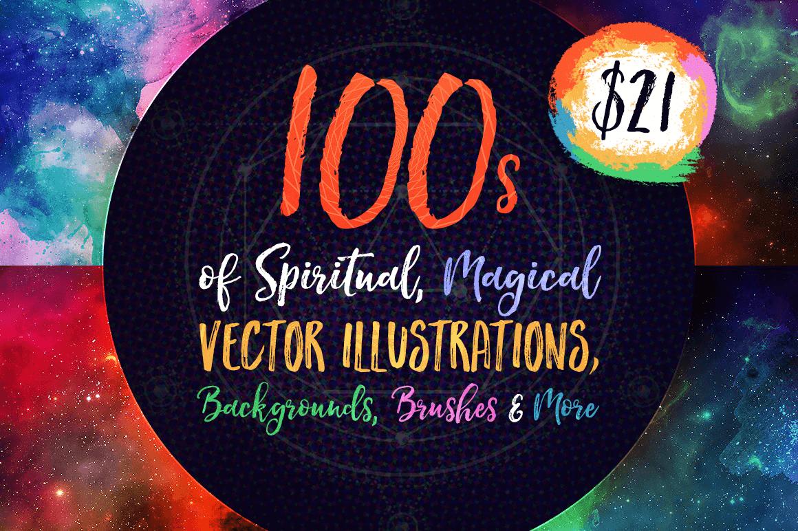 LAST CHANCE: 100's of Spiritual, Magical Vector