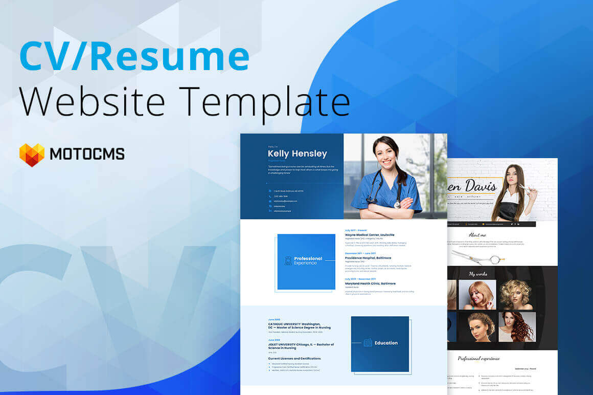 all in one resume cv builder by motocms only 24 mightydeals