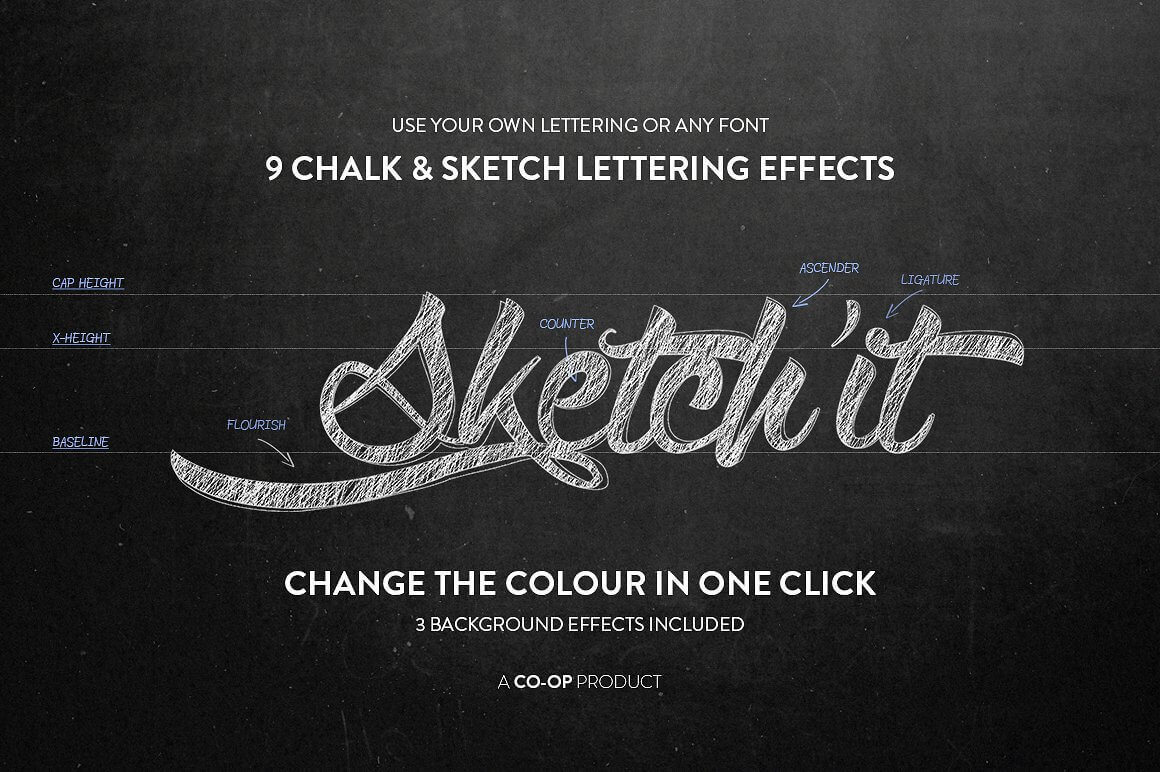 Add realistic chalk and sketch lettering effects with sketchit add realistic chalk and sketch lettering effects with sketchit only 5 altavistaventures Choice Image