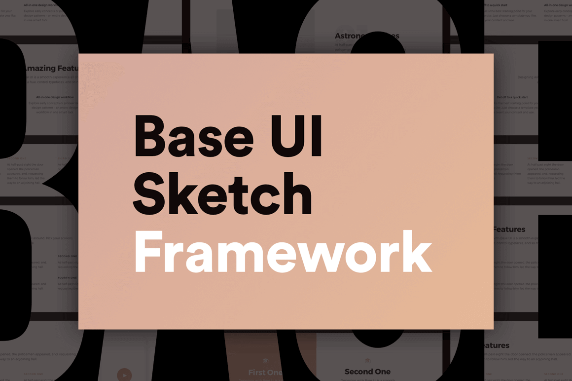 Creating beautiful user friendly websites is now easier than ever using base ui for the sketch app you can quickly and easily build gorgeous designs