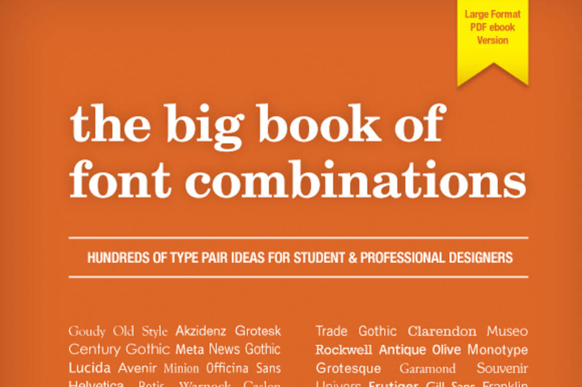 Big Book Font Combinations Pdf