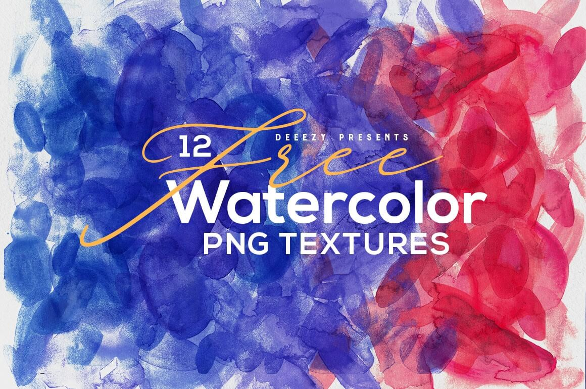 Free Download 12 Abstract Watercolor Textures Mightydeals