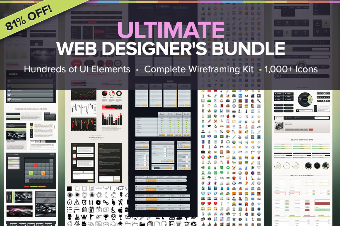 Ultimate Web Designer's Bundle - only $39! - MightyDeals