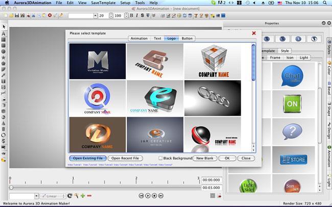 aurora 3d animation maker mac free download