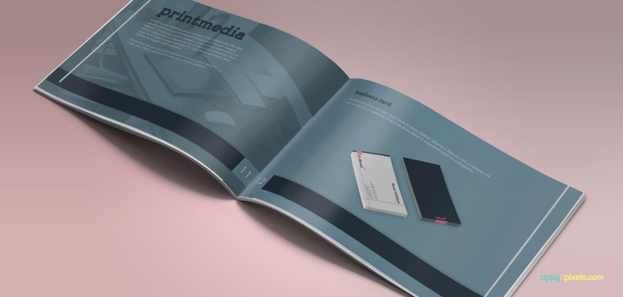 11 Brand Book 8 Print Media