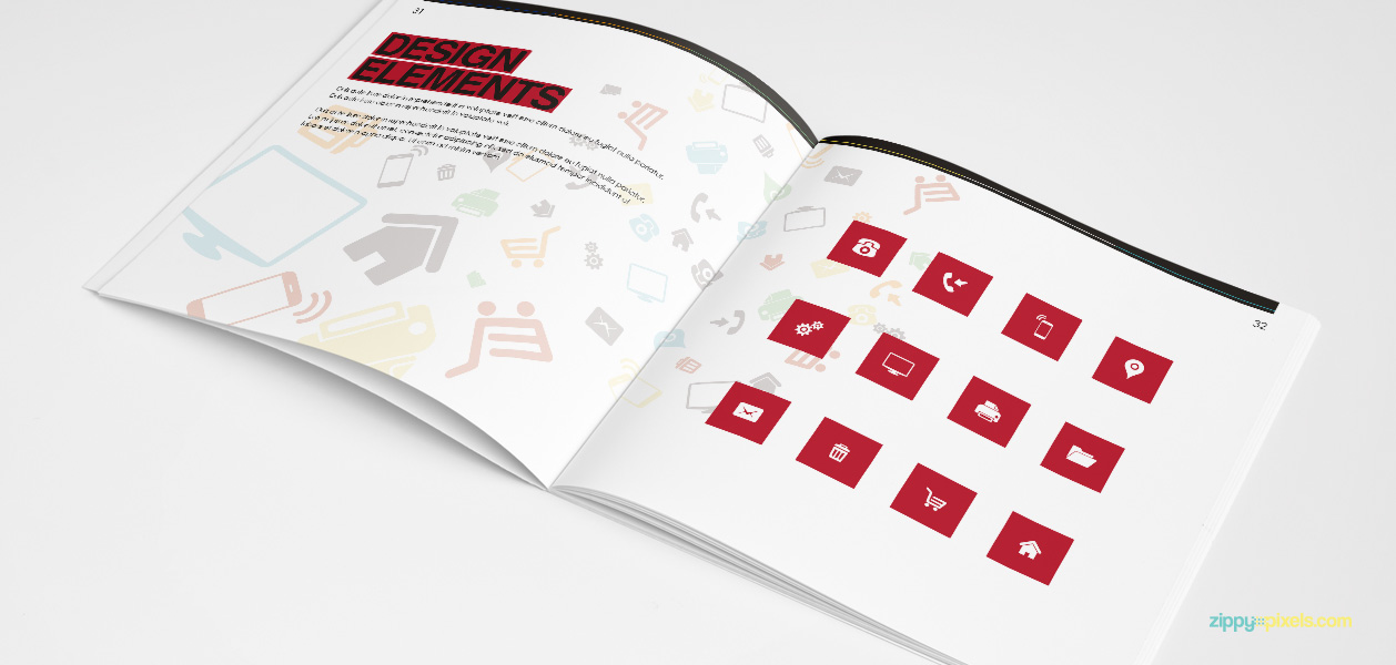 20 Brand Book 12 Design Elements