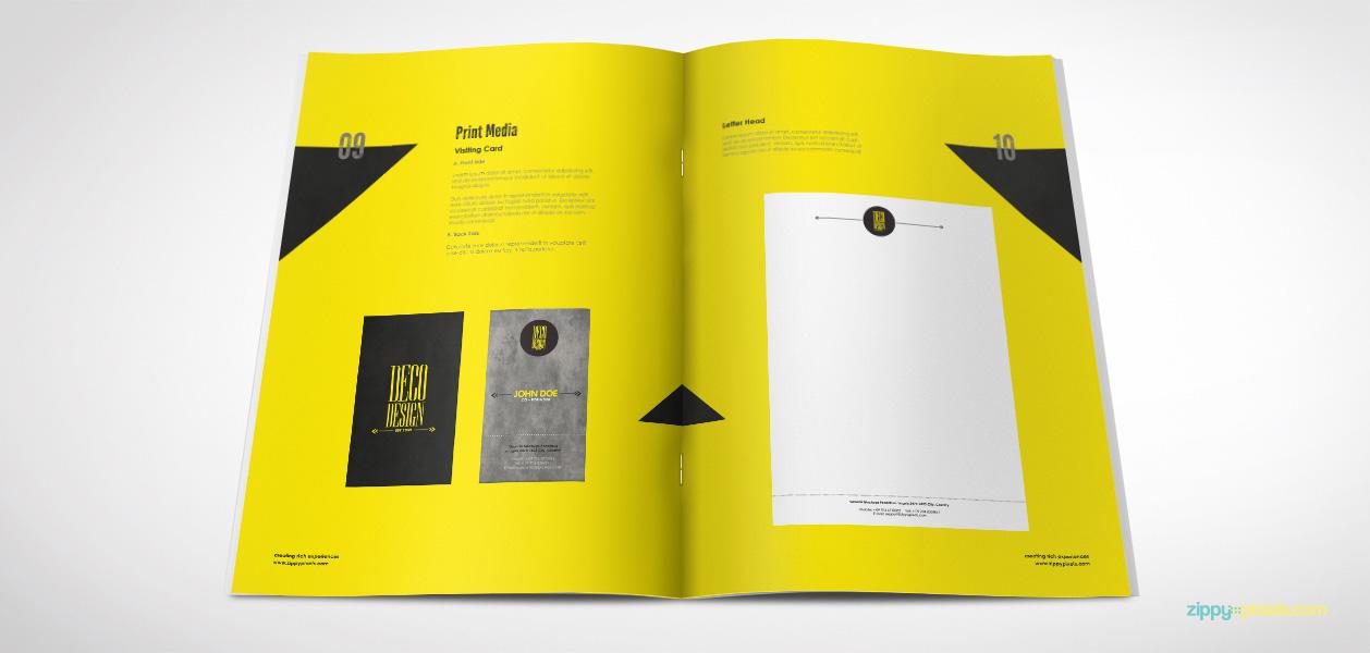 09 Brand Book 7 Print Media