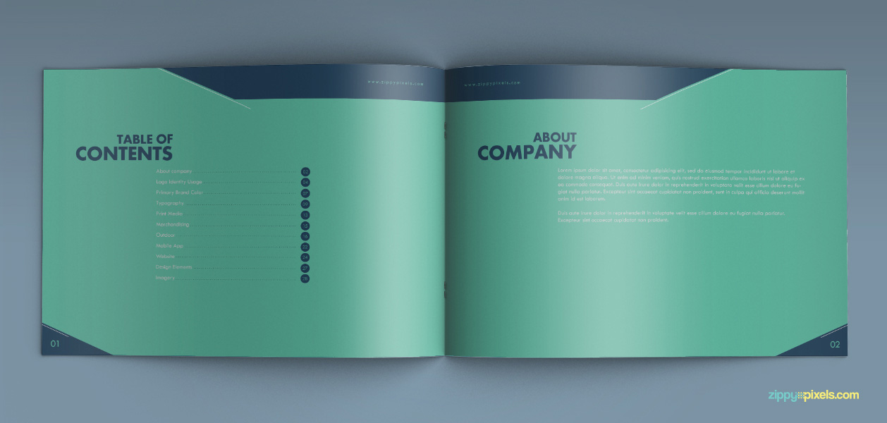 05 Brand Book 5 Table Of Contents About Company