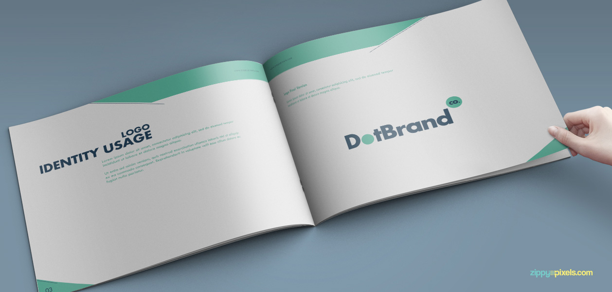 06 Brand Book 5 Logo Identity Usage