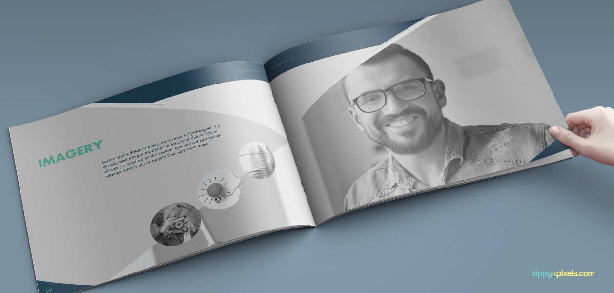 18 Brand Book 5 Imagery Section Professional Personality