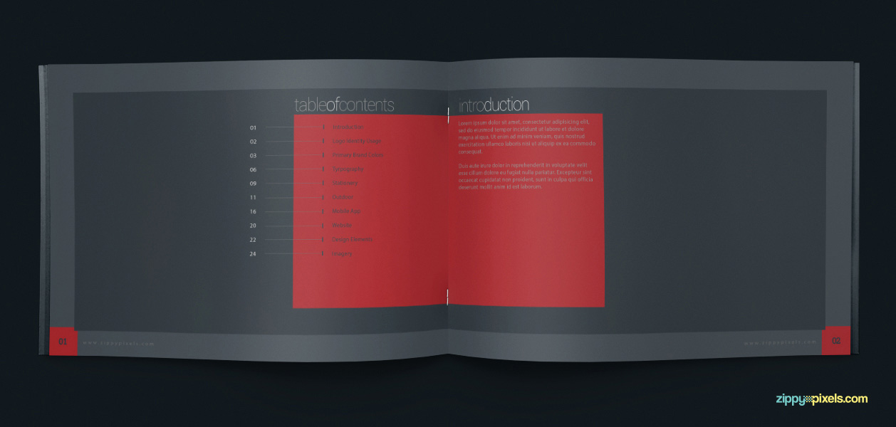 04 Brand Book 1 Table Of Contents