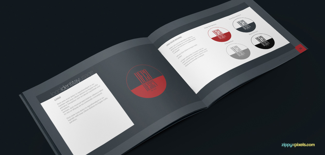 05 Brand Book 1 Logo Identity Usage