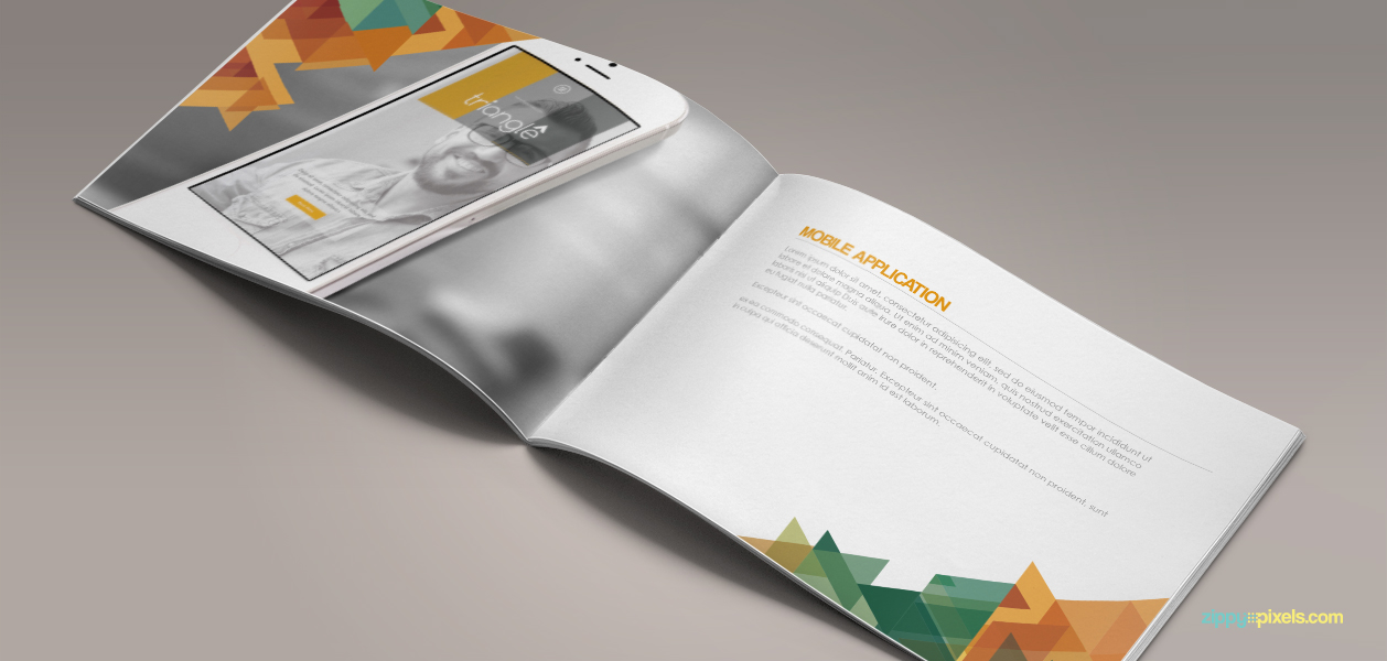17 Brand Book 9 Mobile Application