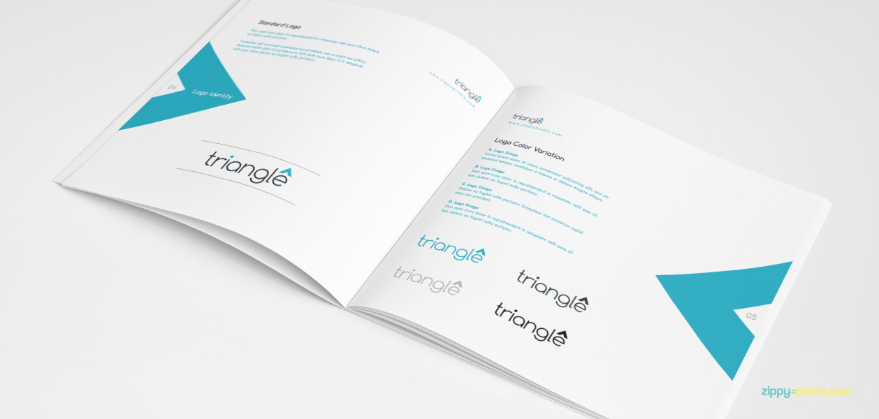 05 Brand Book 11 Logo Identity Standard Logo Logo Color Variations