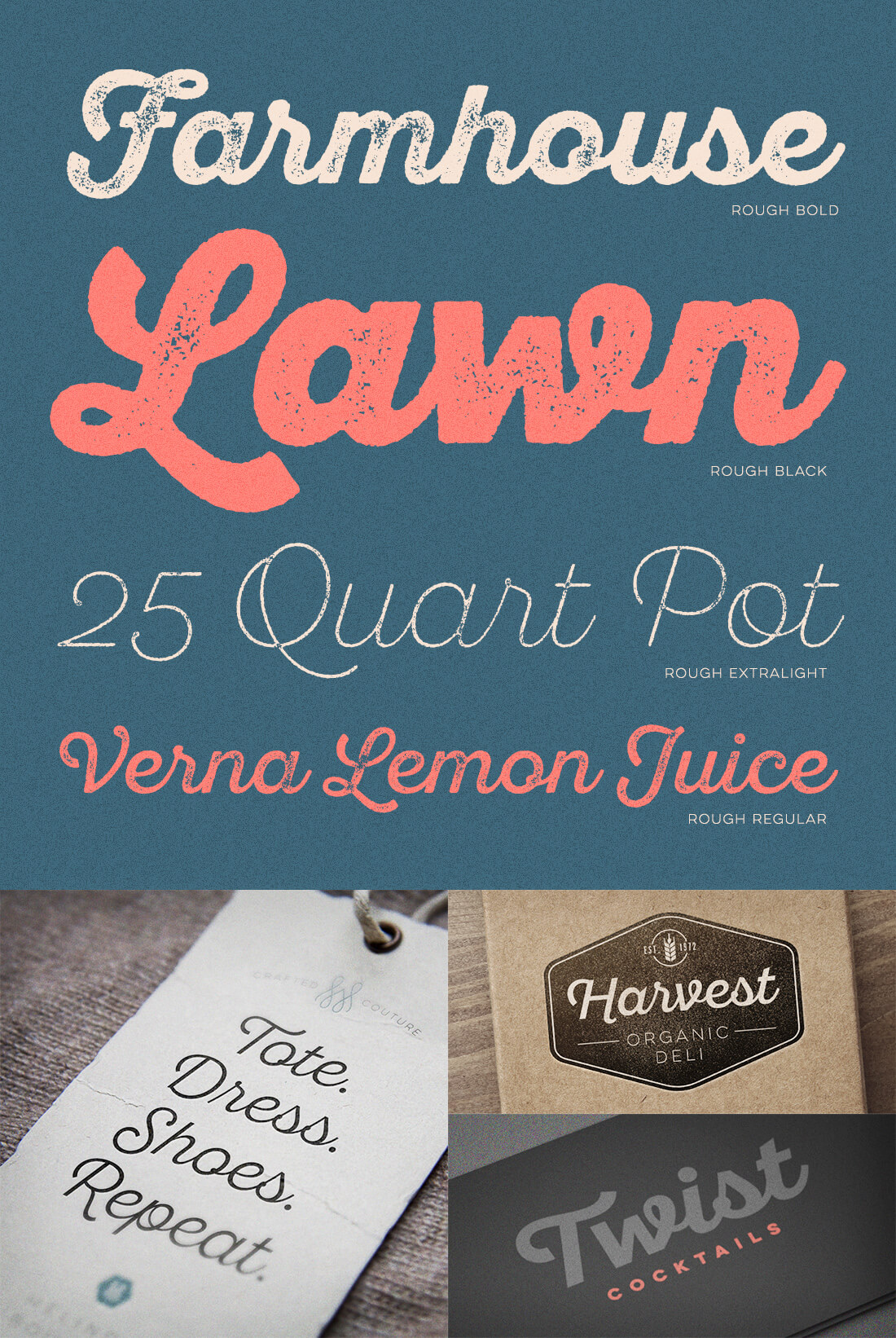 Get creative with Sant'Elia Script (includes 44 fonts) - only $19
