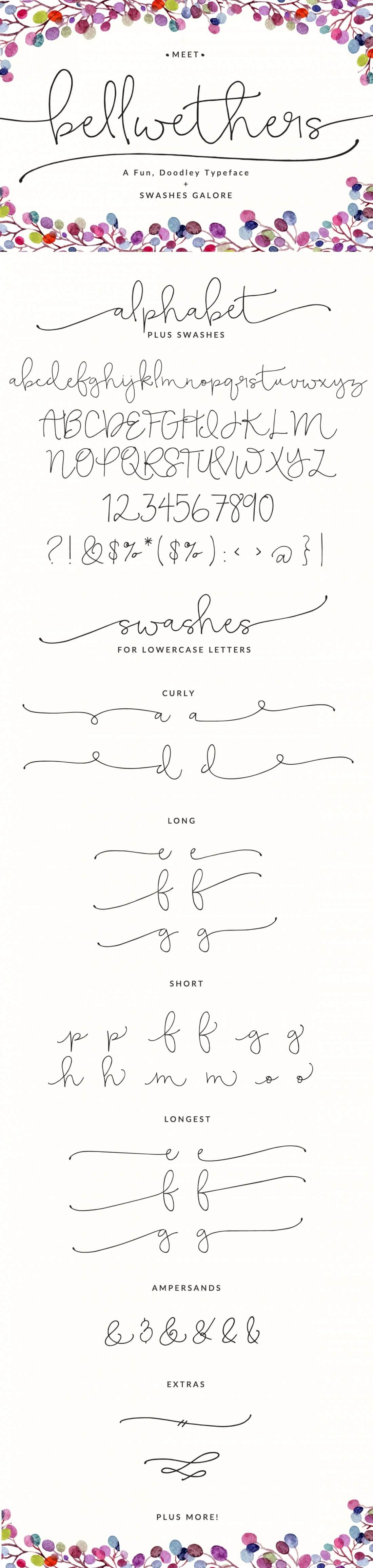 Exclusive Bundle: 10 Fantastic Fresh Script Font Families - only $24