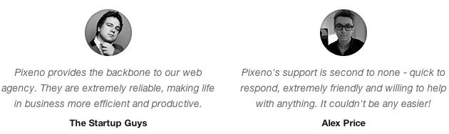 Ý kiến của khách hàng Pixeno