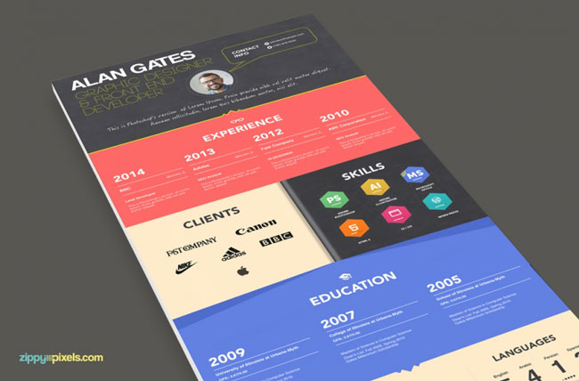 Unique Resume resume form unique resume samples for freshers creative resume templates for microsoft word free download unique Talk About Creative This Colorful And Certainly Creative Rsum Is Made To Look Like An Infographic Fun Modern And Informative All In One