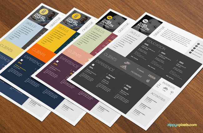 Beautiful Resumes why not structure your data into an info graphic resume stay on point with employment at the center Colorful Stylish Rsum