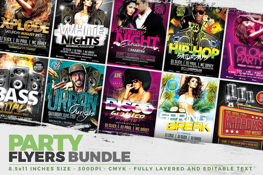 Professional Flyer Templates And Facebook Covers Only - Professional flyer templates
