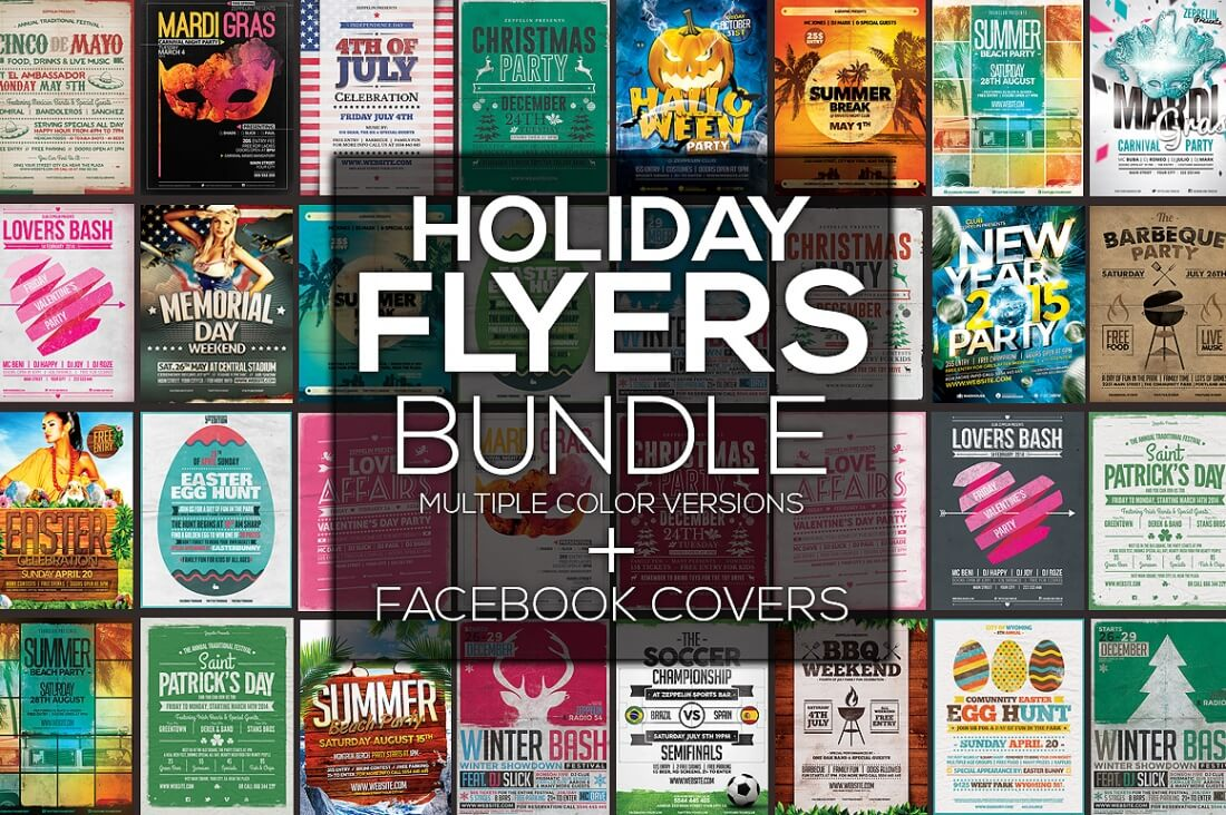 professional flyer templates and facebook covers only  100 professional flyer templates and facebook covers only 19 mightydeals