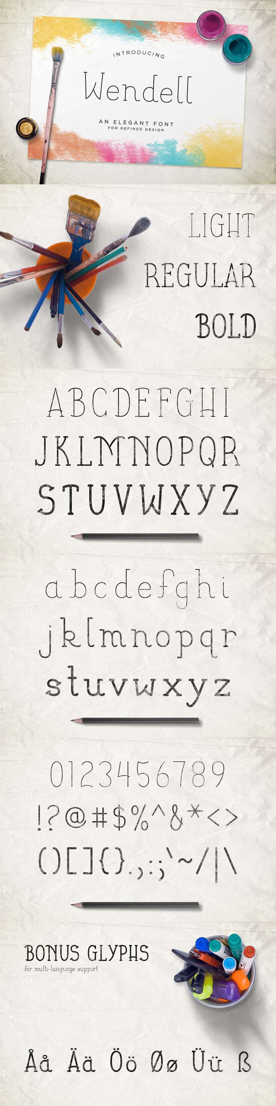 LAST CHANCE: 11 Professional Fonts (and extras) from Design Panoply