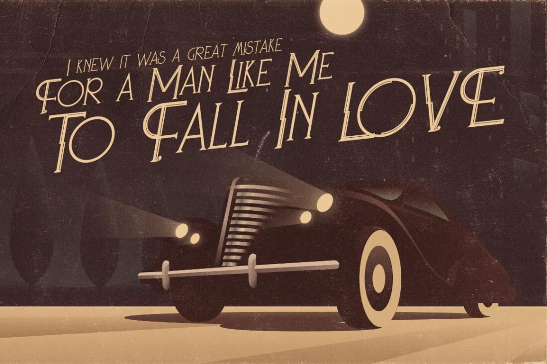 A Great Font For Both Modern And Retro Projects This Vintage Style Family Includes 4 Typefaces Regular Grunge Bold